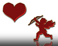 Valentines cupid royalty free stock photos