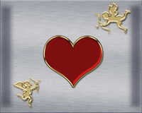 Valentines cupids Royalty Free Stock Photo