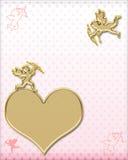 Valentines cupids stock photography