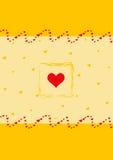 Valentines day. Card stock illustration