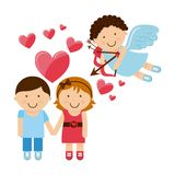 valentines Day stock illustratie