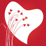 Valentines day abstract Stock Images