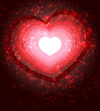 Valentines day. Abstract bacground for greeting card Royalty Free Stock Photography