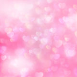 Valentines day abstract backdrop. EPS 10 Stock Image