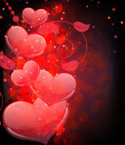 Valentines Day  abstract background Royalty Free Stock Images