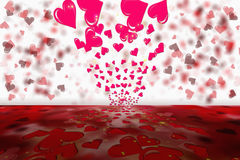 Valentines day abstract background Royalty Free Stock Image