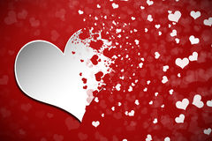 Valentines Day Abstract Background Stock Images