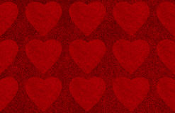 Valentines day abstract background with heart shape. Valentines day abstract background with hearts shape Stock Illustration