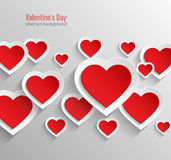 Valentines day abstract background. Stock Photography