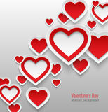 Valentines day abstract background. Royalty Free Stock Photography