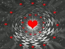 Valentines Day Abstract Design Royalty Free Stock Photos
