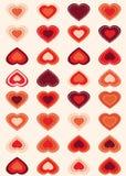 Valentines day background. Illustration Royalty Free Stock Photos