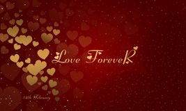 Valentines Day Background Image. Love day. Valentines day. love forever stock illustration