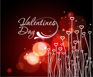 Valentines day background. Abstract valentines day background design element Royalty Free Stock Images