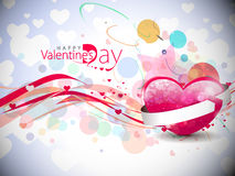Valentines day background. Abstract valentines day colorful background design element Stock Images