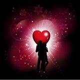 Valentines Day background Stock Image