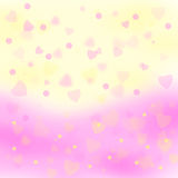 Valentines day background. Color of valentines day background Royalty Free Stock Photography