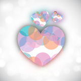 Valentines Day background. Royalty Free Stock Photos