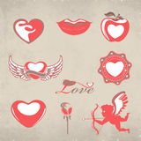 Valentines Day background. Stock Photos