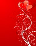 Valentines Day background with Royalty Free Stock Photo