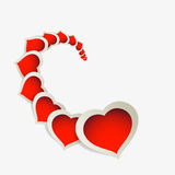 Valentines day background. Valentines day art color background Royalty Free Stock Photos