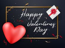 Valentines day background banners Wallpaper flyers Royalty Free Stock Images