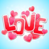 Valentines Day Background Royalty Free Stock Photos