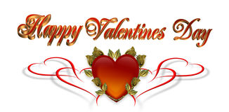 Valentines Day background Card Royalty Free Stock Photography