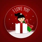 Valentines day background design. Vector illustration.  Stock Photo