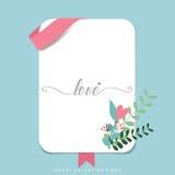 Valentines day background design. Vector illustration Stock Image