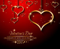 Valentines Day background for dinner invitations Stock Photo