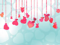 Valentines Day Background. EPS 8 Stock Image