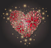 Valentines day background. Stock Photos