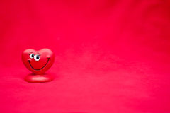 Valentines Day. Background with happy love heart royalty free illustration