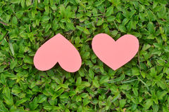 Valentines Day background. Heart on Valentines Day background Stock Photography