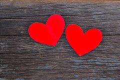 Valentines Day background. Heart on Valentines Day background Royalty Free Stock Image