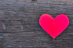 Valentines Day background. Heart on Valentines Day background Stock Photo