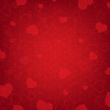 Valentines Day Background With Heart And Blur Stock Photos