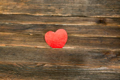 Valentines day background with heart. Dark wooden background. Valentines day background with heart. wooden background Stock Image