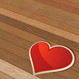 Valentines Day background with heart. + EPS8. Vector file Stock Illustration