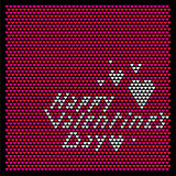 Valentines day background Royalty Free Stock Image