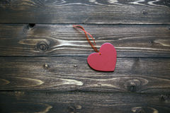 Valentines Day background with heart. Valentines Day background with red heart Stock Photos