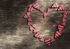 Valentines Day background with heart. Royalty Free Stock Image