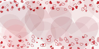 Valentines day background hearts Royalty Free Stock Images