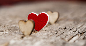 Valentines Day background with hearts. Royalty Free Stock Image