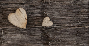 Valentines Day background with hearts Royalty Free Stock Images