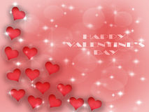 Valentines day background pattern hearts and light and stars. Valentines day background pattern hearts vector illustration