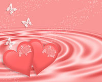 Valentines Day Background pink Stock Photography