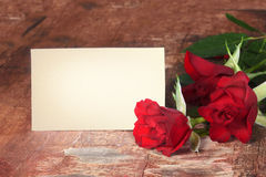 Valentines day background. With roses Royalty Free Stock Images