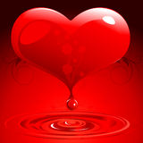 Valentines day background series Royalty Free Stock Photos